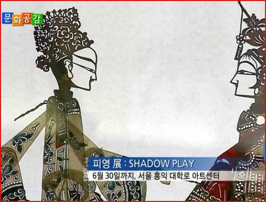 中 국보급 가죽 인형 '피영'의 한국 나들이
