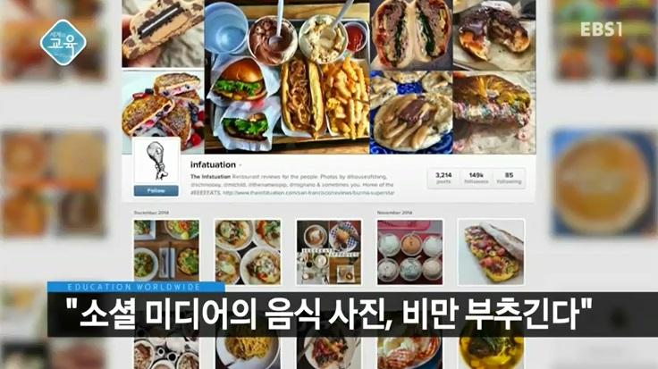 <세계의 교육> SNS의 음식 사진이 미치는 영향