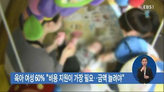 육아 여성 60%
