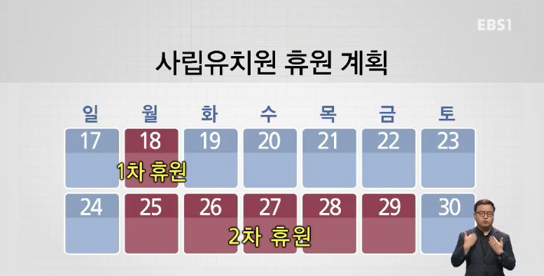 사립유치원 집단휴업‥정부