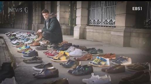 <뉴스G> '주인 잃은 신발, 606켤레
