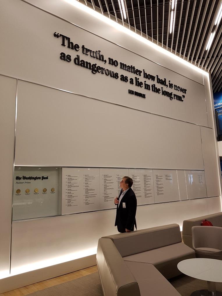 [취재이야기] 변화를 위한 '디지털 혁신'-워싱턴 포스트 가보니
