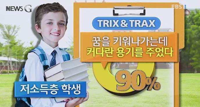 <뉴스G> 또래끼리 공동작업, '트릭스 앤 트랙스'