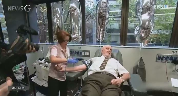 <뉴스G> 60년간 헌혈을 해온 할아버지