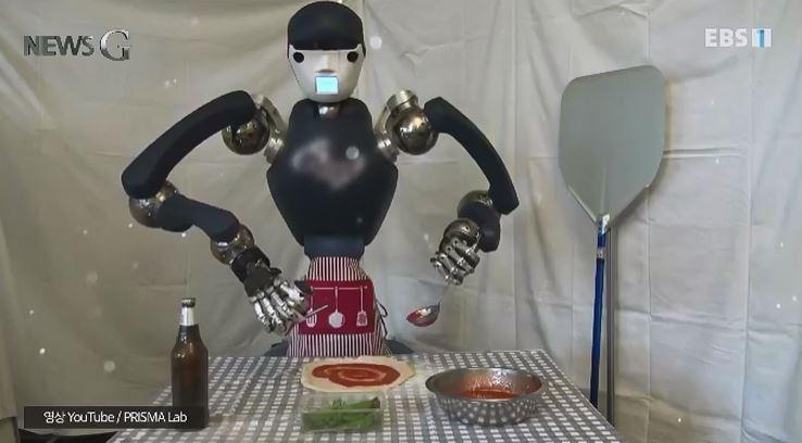 <뉴스G> 로봇 셰프의 요리 비결