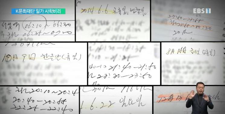 [단독] K문화재단 일가, 운전기사를 학교직원으로 불법 고용
