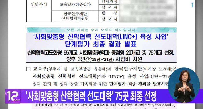 '사회맞춤형 산학협력 선도대학' 75곳 최종 선정
