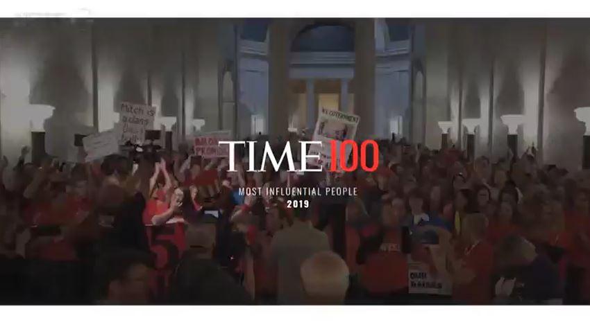 <뉴스G> 타임, 영향력 있는 100인 선정