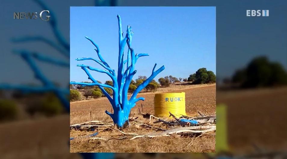 <뉴스G> 파란 나무가 건넨 말