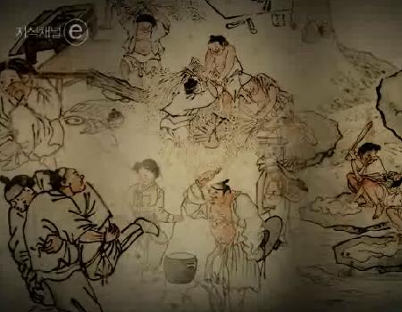 문화유산 시리즈 이야기가 있는 그림 단원 김홍도의 풍속화