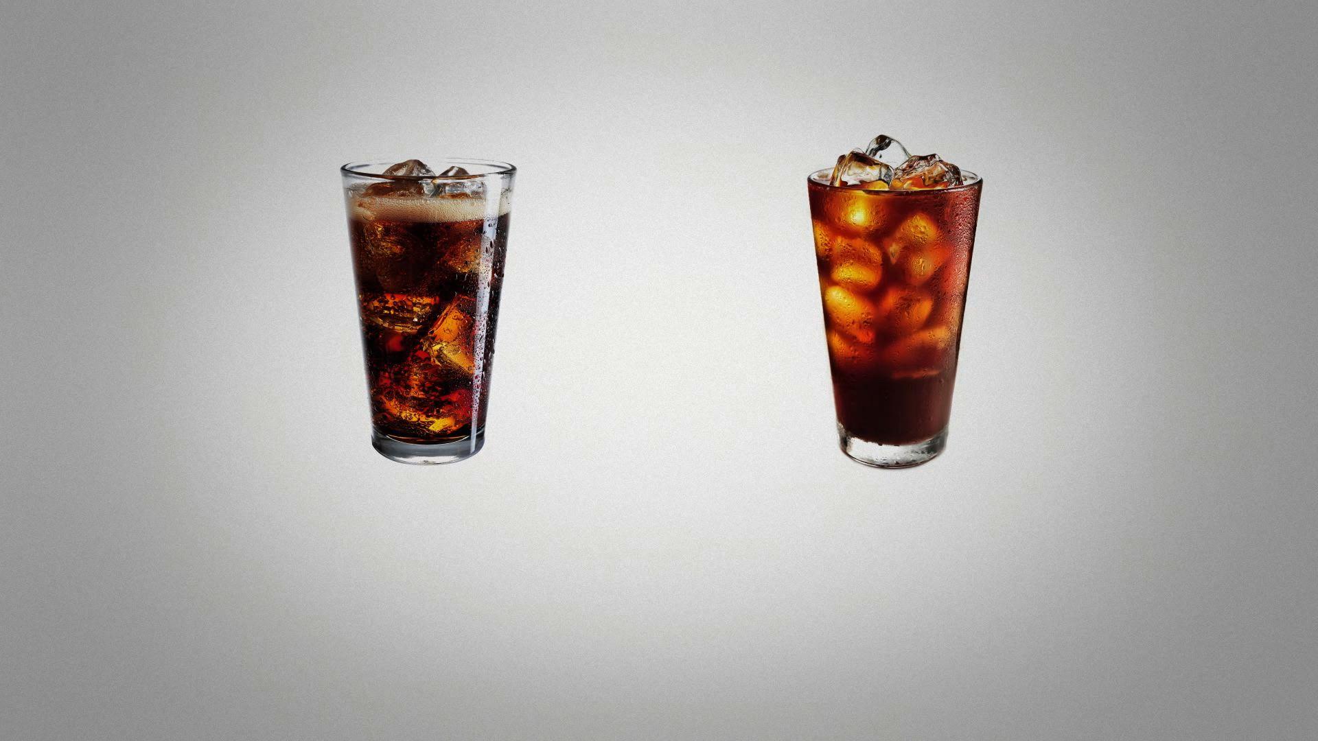 콜라 대신 커피