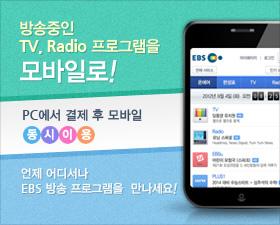 방송중인 TV, Radio 프로그램을 모바일로!