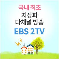 국내 최초 지상파 다채널 방송,EBS 2TV