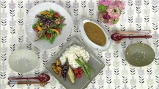 최고의 요리비결, 김정은의 카레라이스와 구운 채소 샐러드