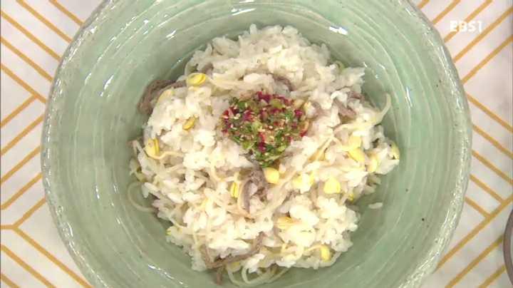 최고의 요리비결, 이영순의 소고기 콩나물밥과 총각무 피클