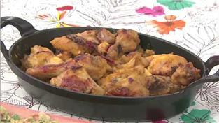 최고의 요리비결, 김은경의 카레소스 닭 오븐구이와 부추전