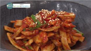 최고의 요리비결, 김영빈의 배추 당면국과 우엉 채깍두기