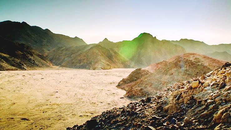 세계의 눈, 중동의 대자연 '이집트'