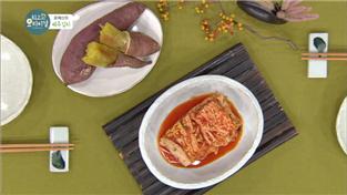 최고의 요리비결, 윤혜신의 배추김치