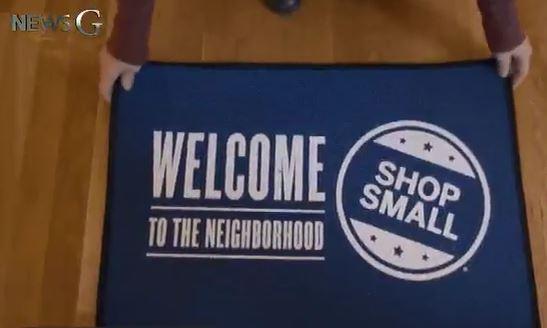 """작은 소비를 합시다!, [뉴스G] #SmallBusinessSaturday 소상공인의 토요일 """"작은 소비를 합시다. 화이팅."""""""