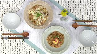 최고의 요리비결, 임미자의 해시브라운과 리코타 치즈 샐러드