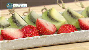 최고의 요리비결, 최진흔의 벨기에 와플과 과일꼬치