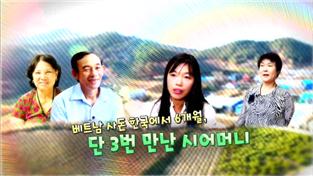 다문화 고부열전, 베트남 사돈 한국에서 6개월, 단 3번 만난 시어머니