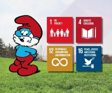 행복의 조건, 3월 20일은 유엔이 정한 '세계 행복의 날', 올해 유엔과 손잡은 스머프가 지구인에게 전하는 행복의 조건은?