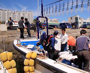 한국기행, 한밤의 은빛 물고기 유혹