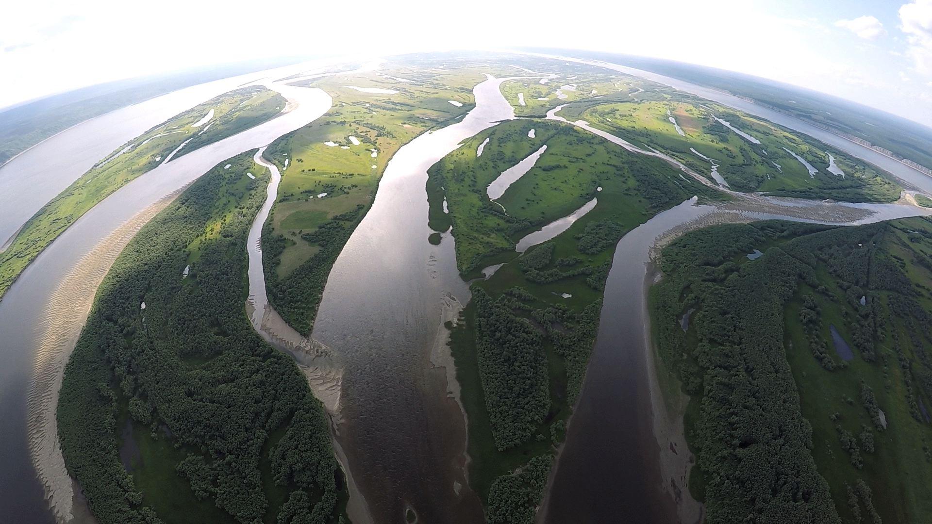 동시베리아의 젖줄 레나강
