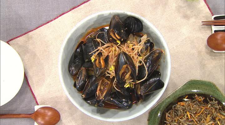 최고의 요리비결, 윤혜신의 매운 홍합탕과 멸치 귤피볶음