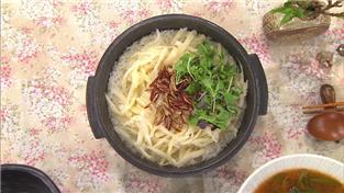최고의 요리비결, 임효숙의 봄동 된장국과 더덕밥