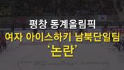 평창 동계올림픽 여자 아이스하키 남북단일팀 논란