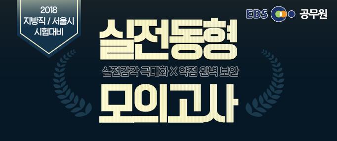 2018 지방직/서울시 모의고사