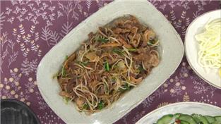 최고의 요리비결, 김선영의 차돌박이 숙주볶음과 오이초무침