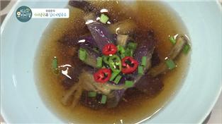 최고의 요리비결, 유창준의 가지냉국과 김치 비빔국수