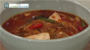 최고의 요리비결, 이순옥의 두부 김치찌개와 돼지고기 김치찌개