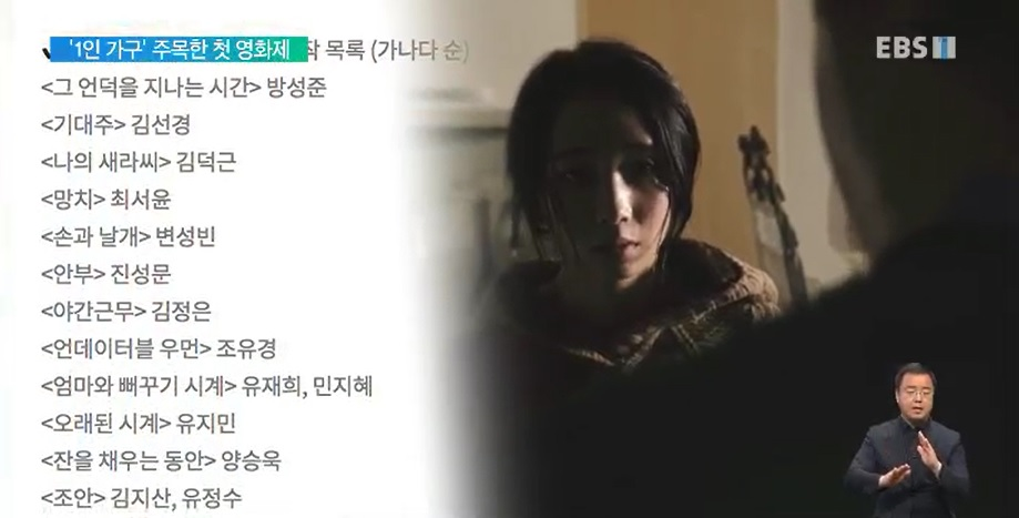 [가족의 탄생 기획] 10편 '1인 가구' 다양한 모습 조망한 '영화제'‥다음 달 첫선