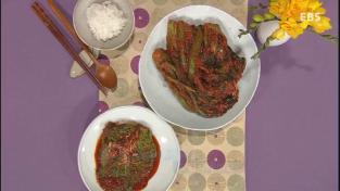 최고의 요리비결, <[팔도손맛]이경애의손맛을배우다-전남여수편>갓김치와갓쌈김치