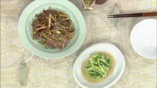 최고의 요리비결, <이보은의 꽉 찬 영양밥상> 약도라지불고기와 얼갈이배추나물