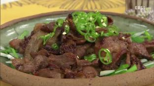 최고의 요리비결, <윤혜신의 건강한 요리> 돼지불고기와 얼린두부볶음