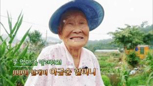 장수의 비밀, 울 엄마 좀 말려줘요! 100세 일개미 이금순 할머니