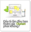 Đây là lần đầu bạn tham gia Durian phải không?
