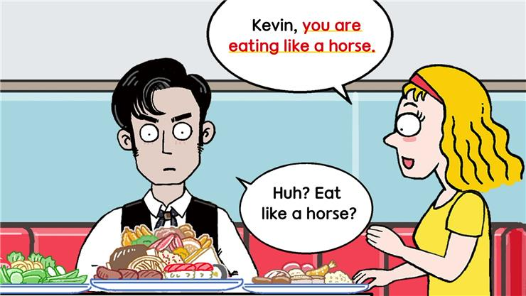 Day 83. Eat like a horse