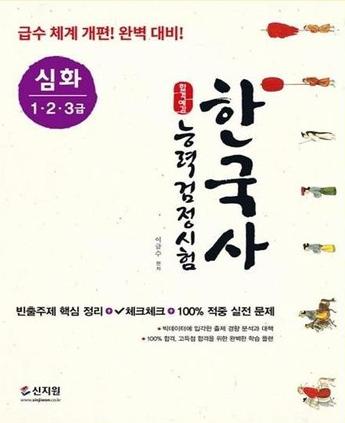 한국사능력검정시험, 심화(1ㆍ2ㆍ3급)