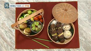 최고의 요리비결, 김정은의 대파불고기꼬치×주먹밥