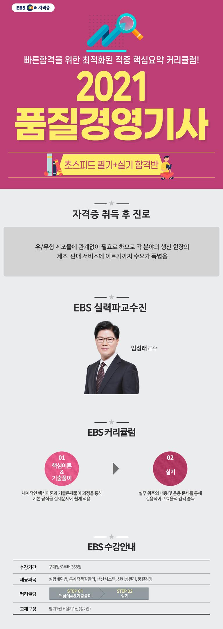 2020 품질경영기사 초스피드 필기+실기 합격반_M