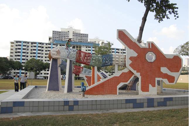 집 앞을 벗어나 자연 속으로...싱가포르의 공공 놀이터